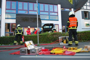 FW-MK: Verkehrsunfall auf dem Kurt-Schumacher-Ring