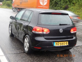 POL-VDKO: Verkehrsunfall mit zwei leichtverletzten Person