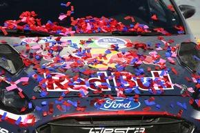 """Mit dem Sieg in Mexiko verbesserte sich M-Sport Ford in der Herstellerwertung auf den zweiten Platz. Weiterer Text über ots und www.presseportal.de/nr/6955 / Die Verwendung dieses Bildes ist für redaktionelle Zwecke honorarfrei. Veröffentlichung bitte unter Quellenangabe: """"obs/Ford-Werke GmbH"""""""