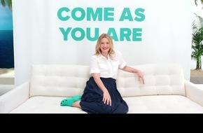 """Crocs startet leichtfüßig ins zweite Jahr seiner """"Come As You Are""""-Kampagne und präsentiert ein Musical mit Drew Barrymore in der Hauptrolle"""