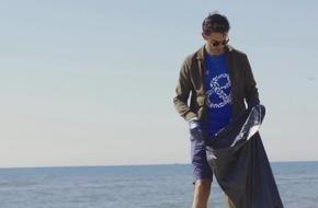 Head & Shoulders führt die erste recycelbare Shampoo-Flasche mit Strandplastik ein
