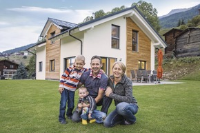 Einfamilienhaus mit gelungenem Materialmix