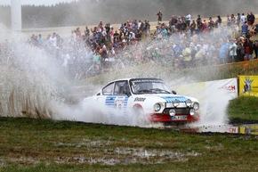 SKODA nimmt mit historischen Renn-, Rallye- und Serienautos am Oldtimer-Grand-Prix teil