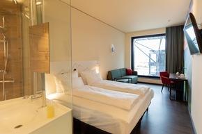 Superior Doppelzimmer im a-ja City-Resort in Zürich (c)Christopher Tiess für a-ja Resort und Hotel GmbH