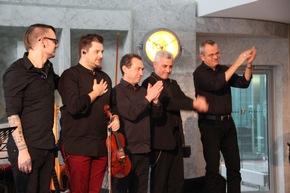 Nico Schliemann, Stefan Krznaric, Valery Brusilovsky, Francesco Petrocca, Tom Schlüter