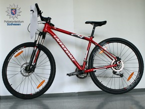 Sichergestelltes Fahrrad