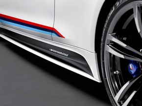 BMW auf der SEMA 2015 / BMW M Performance: neuer Schriftzug, neue Parts.