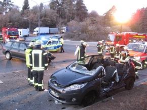 Schwerer Verkehrsunfall Nagold Bild Markus Fritsch Kreisfeuerwehrverband Calw