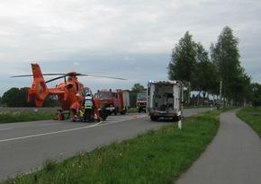 POL-STD: Drei zum Teil schwer verletzte Autoinsassen bei Unfall in Ahlerstedt