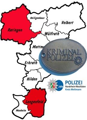 Symbolbild: Kriminalpolizei ermittelt nach Einbrüchen in Ratingen und Langenfeld