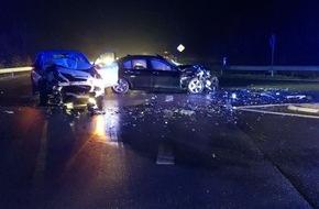 Unfall 2 Verletzte