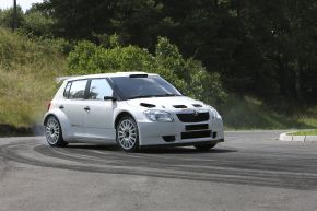 Skoda bietet honorarfreies Bildmaterial zum Thema Rallyesport und Sportsponsoring
