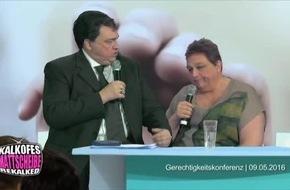 """Gabriel vs Susanne: Aufräumen in der SPD! / """"Kalkofes Jahresrückblick - Fresse 2016"""" am 27. Dezember um 20:15 Uhr auf TELE 5."""