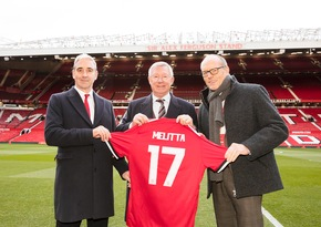 Presseinformation: Melitta kooperiert mit Manchester United