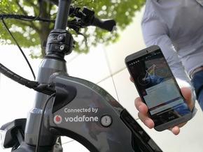 Das intelligente E-Bike von Vodafone und ZEG.