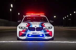 """Official Car of MotoGP[TM]"": BMW M startet mit dem neuen BMW M2 MotoGP Safety Car in die Saison 2016"