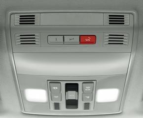 """Vorreiter beim Zukunftsthema vernetztes Auto: SKODA bietet Konnektivität serienmäßig / Care Connect umfasst den Inforuf, den Pannenruf sowie die Notruftaste (v.l.n.r.). Weiterer Text über ots und www.presseportal.de/nr/28249 / Die Verwendung dieses Bildes ist für redaktionelle Zwecke honorarfrei. Veröffentlichung bitte unter Quellenangabe: """"obs/Skoda Auto Deutschland GmbH"""""""