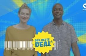"""Das Erste: """"Der beste Deal"""" - Neues Verbraucherformat mit Annabell Neuhof und Yared Dibaba ab 3. September 2018, jeweils montags um 20:15 Uhr im Ersten"""