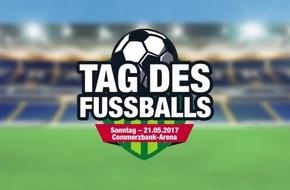 Der 2. Tag des Fußballs am 21. Mai - Fußball-Messe, Torwandmeisterschaft, Tag des Fußballs, Shoot-Out, Soccer-Expo, Commerzbank-Arena, Familien-Programm, Fußballschulen, Kleinfeldturner, Charity