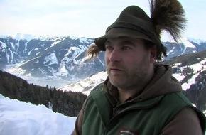 Audienz beim König der Wälder in Zell am See-Kaprun - VIDEO/BILD