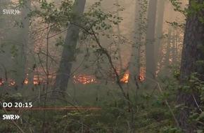 """Wald in Flammen - Droht auch in Rheinland-Pfalz ein großer Waldbrand? / """"Zur Sache Rheinland-Pfalz!"""" am Donnerstag, 2. August 2018, 20:15 Uhr im SWR Fernsehen"""