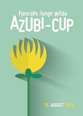 Werbeplakat zum Fleurops Junge Wilde Azubi-Cup 2018