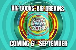 Guinness World Records 2019 Buch erscheint heute: Jeder ist #rekordverdächtig!