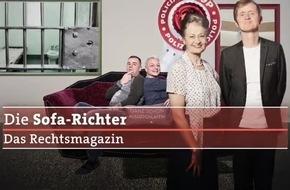 Sofa-Richter sind gefragt / Neues Rechtsformat ab 23. Mai 2017, 21 Uhr, im SWR Fernsehen / Laien urteilen von zuhause, ARD-Rechtsexperte Frank Bräutigam ordnet ein