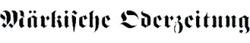 weiter zum newsroom von Märkische Oderzeitung