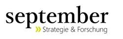 weiter zum newsroom von september Strategie und Forschung GmbH