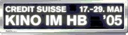Credit Suisse Kino im HB