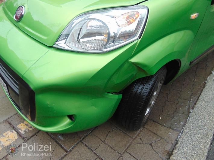 POL-PPWP: Unfall wegen Vorfahrtsmissachtung
