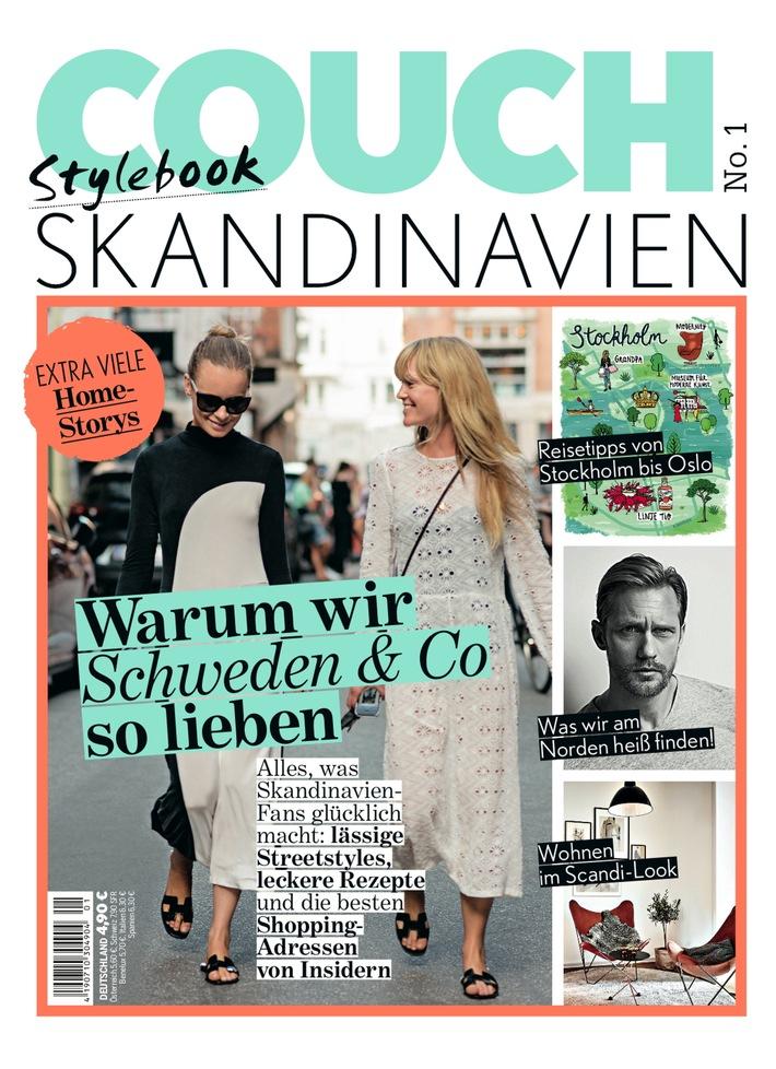 Fashion-Magazin COUCH - das Stylebook No.1 Skandinavien