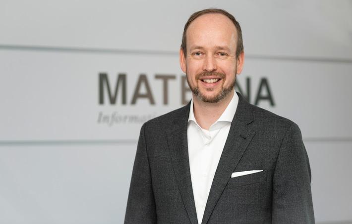 Martin Wibbe, Vorstandsvorsitzender und CEO der Materna-Gruppe / Weiterer Text über ots und www.presseportal.de/nr/15295 / Die Verwendung dieses Bildes ist für redaktionelle Zwecke unter Beachtung ggf. genannter Nutzungsbedingungen honorarfrei. Veröffentlichung bitte mit Bildrechte-Hinweis.