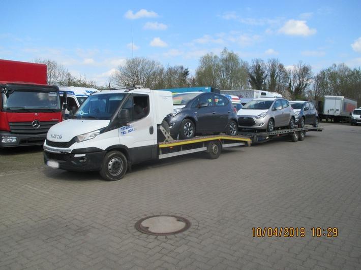 POL-NI: La policía de Nienburg toma un depósito de seguridad de 25,000 EUR