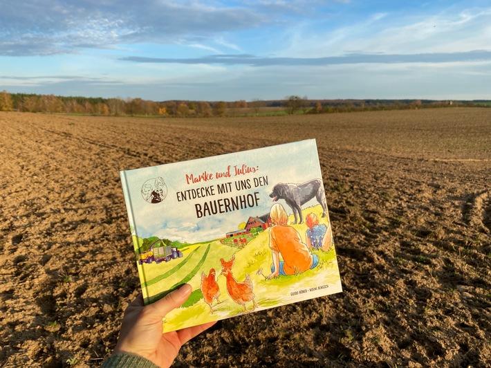 Live-Lesung: Entdecke mit uns den Bauernhof / Buch von Guido Höner / Weiterer Text über ots und www.presseportal.de/nr/29845 / Die Verwendung dieses Bildes ist für redaktionelle Zwecke honorarfrei. Veröffentlichung bitte unter Quellenangabe: