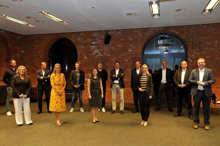 Mitglieder des Marketing Club Hamburg wählen neuen Beirat