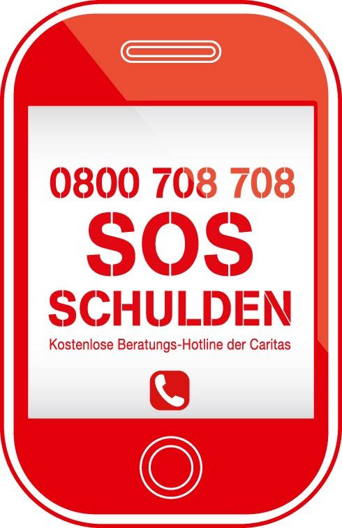 SOS Schulden: die Gratis-Beratungshotline der Caritas - Caritas bietet neu unter 0800 708 708 telefonische Schuldenberatungen an