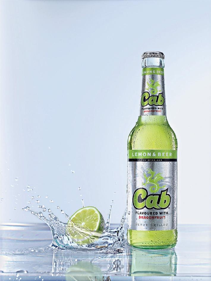Jetzt neu auf dem Markt: Cab LEMON & BEER von Krombacher