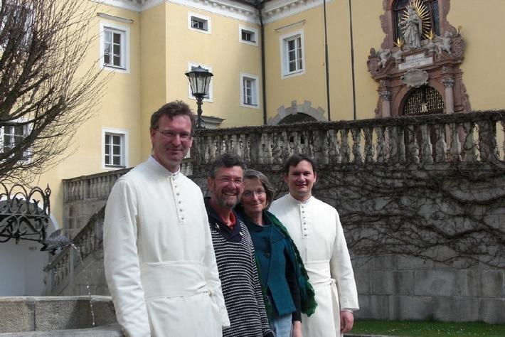 """Bei """"Gast im Kloster"""" am klösterlichen Lebensrhythmus teilnehmen: www.GastimKloster.at, www.kloesterreich.at.  Die Verwendung dieses Bildes ist für redaktionelle Zwecke honorarfrei.  Veröffentlichung bitte unter Quellenangabe: """"obs/Klösterreich"""""""