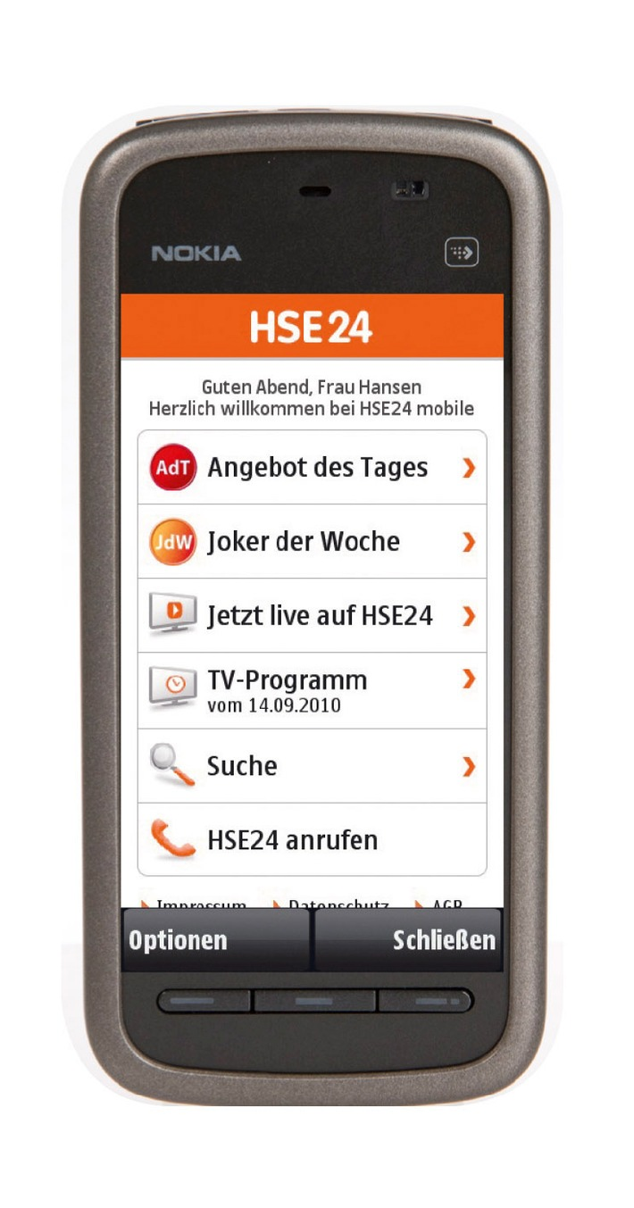 HSE24 wird mobil / Homeshopping-Spezialist launcht mit HSE24 mobile weitere Verkaufsplattform (mit Bild)