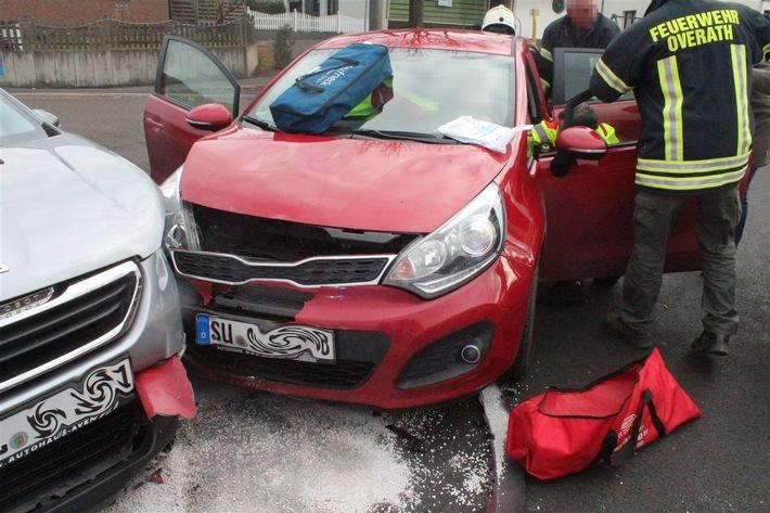POL-RBK: Overath - eine Schwerverletzte und erheblicher Sachschaden in Heiligenhaus