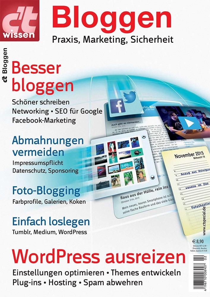 """c't wissen Bloggen. Weiterer Text über ots und www.presseportal.de/nr/7833 / Die Verwendung dieses Bildes ist für redaktionelle Zwecke honorarfrei. Veröffentlichung bitte unter Quellenangabe: """"obs/c't/c't wissen Bloggen"""""""