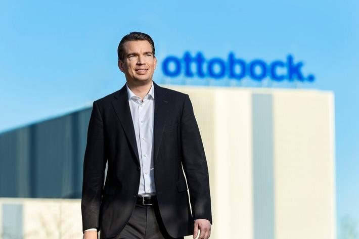 Ottobock CEO und CFO Philipp Schulte-Noelle. Weiterer Text über ots und www.presseportal.de/nr/32079 / Die Verwendung dieses Bildes ist für redaktionelle Zwecke honorarfrei. Veröffentlichung bitte unter Quellenangabe: