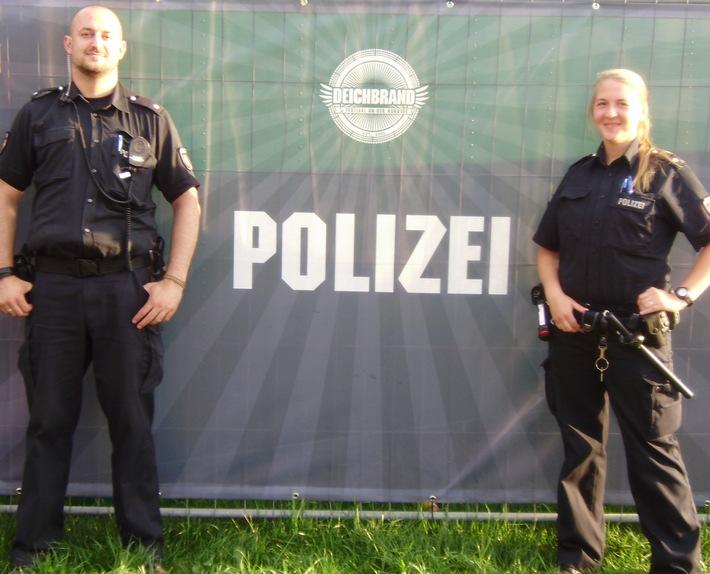 POL-CUX: Deichbrand-Festival - Gute Heimfahrt!