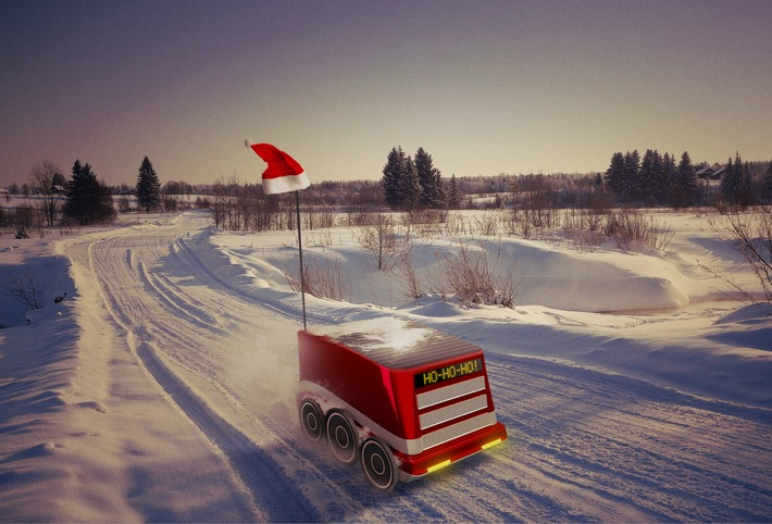 """ZF-Zukunftsstudie """"Letzte Meile"""": Wenn der Roboter das Weihnachtspaket bringt"""