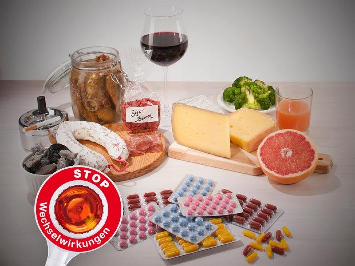 Apothekenkampagne zu Wechselwirkungen mit Lebensmitteln / Tag der Apotheke am 5. Juni 2014