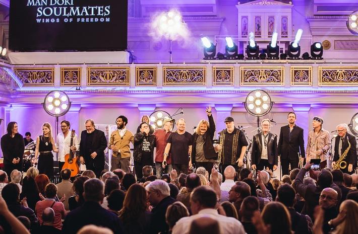 Man Doki Soulmates - Wings of Freedom Concerts 2017 / Man Doki Soulmates begeistern auf Konzert-Tour in Paris, London und Berlin