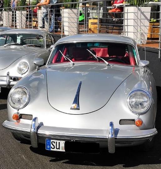 Gestohlener Oldtimer Porsche