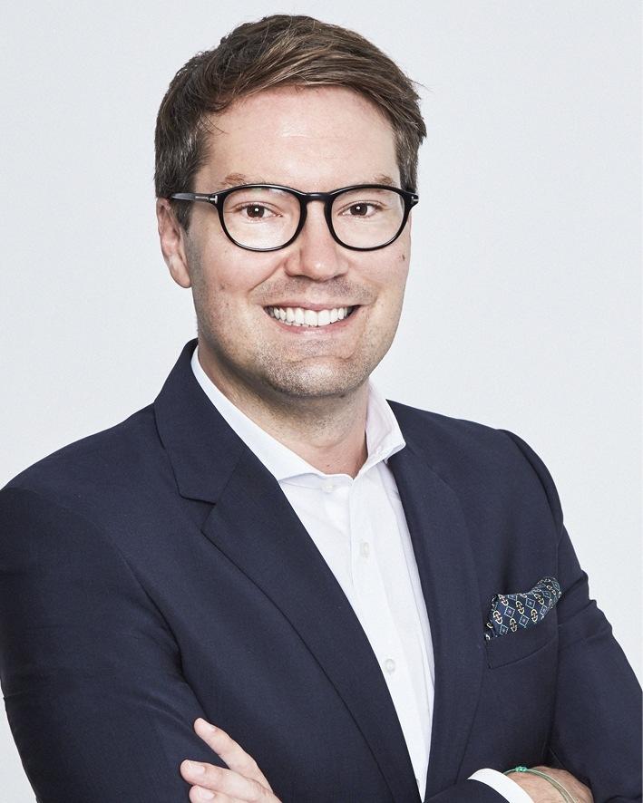 Ralph Hofmann, Director Marketing & Sales bei PALMERS